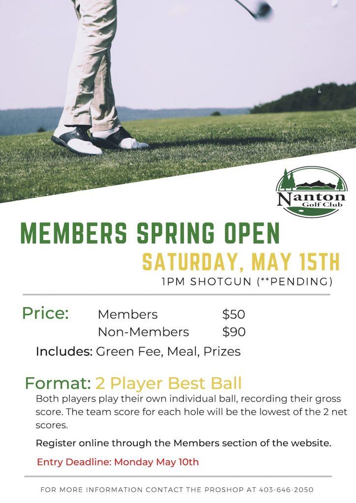 21 Members Spring Open2