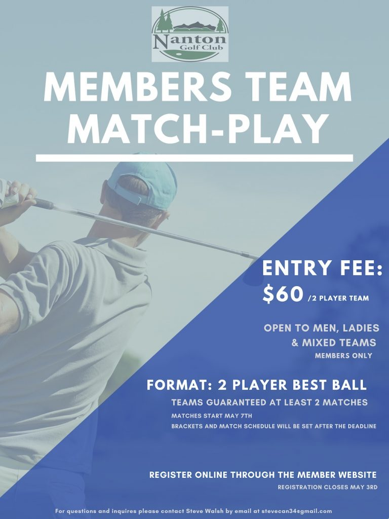 Members Team Match-Play Poster (2)